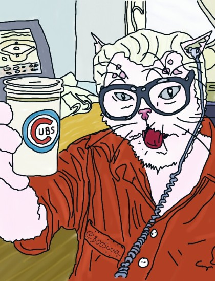 Harry Caray - Beloved Sports Announcer, Patron Saint of American Baseball Was THE voice of baseball, sacrificed his body but not his soul for the love of the Cubbies