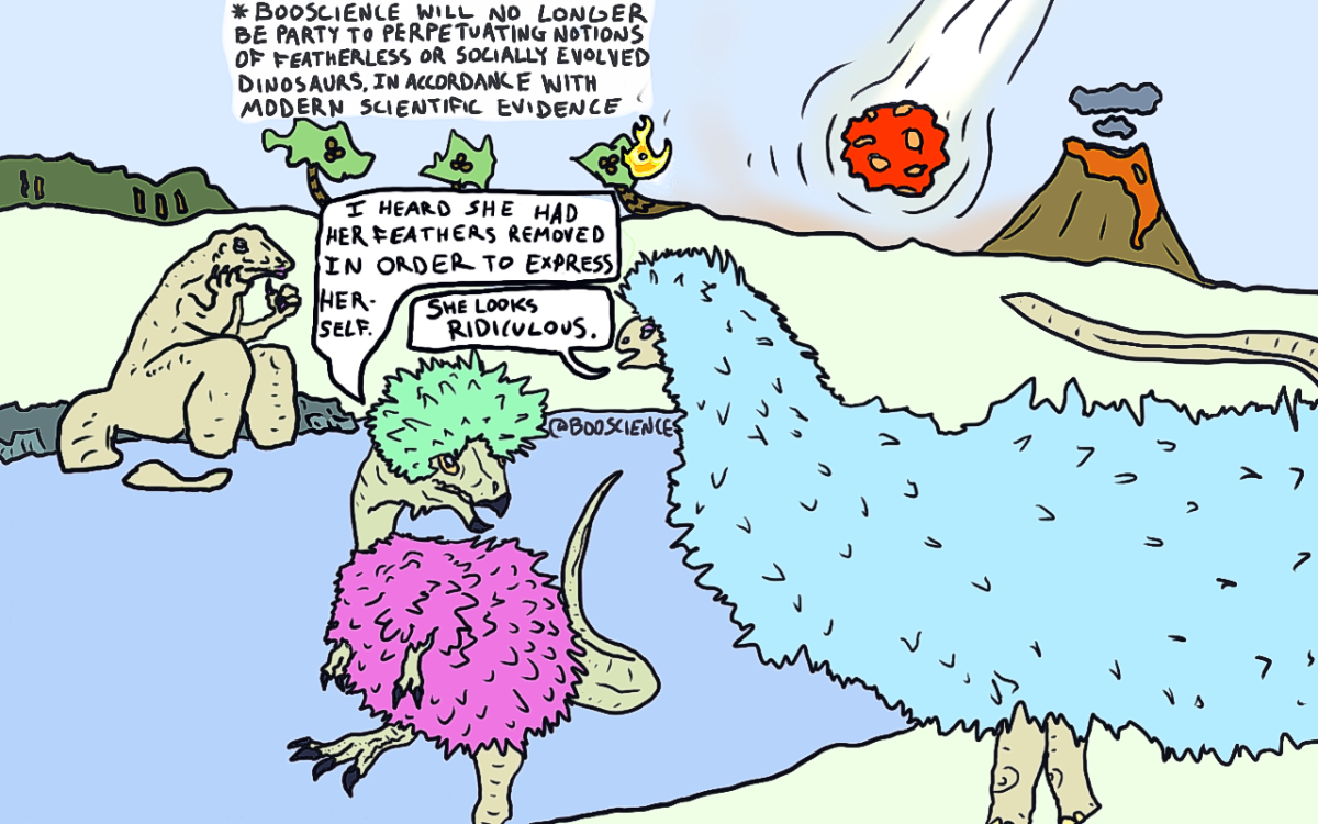 Honesty in cartooning, fair and feathered - @BooScience
