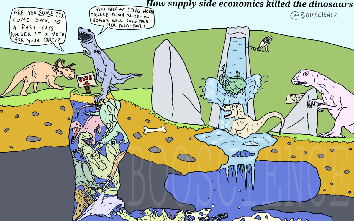 How supply side economics killed off the dinosaurs