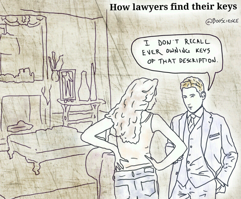 How Lawyers Find Their Keys