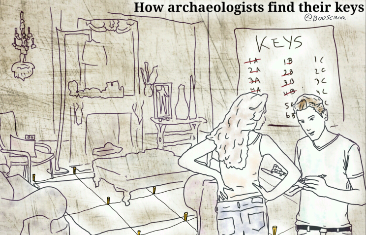 How Archaeologists Find Their Keys