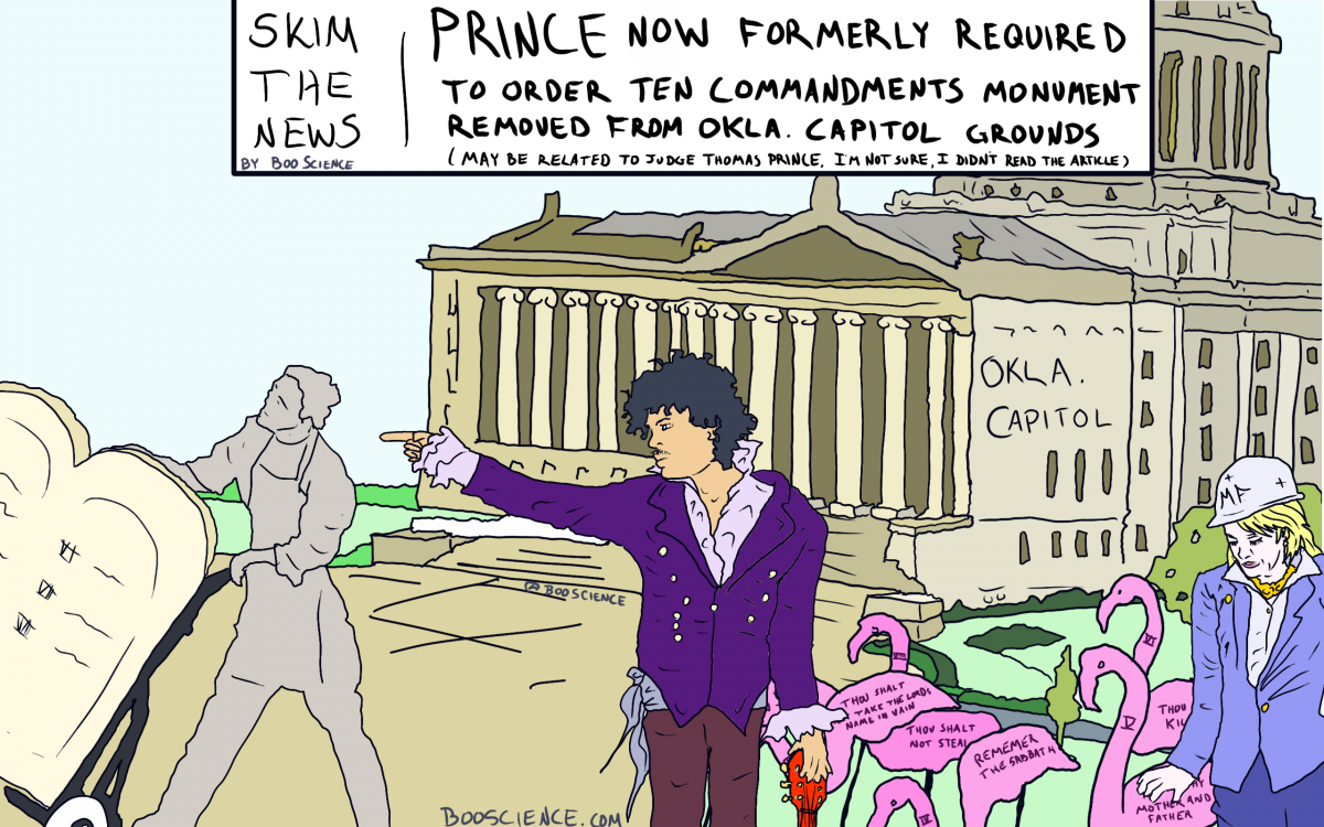 Skim the News: Prince Commandments