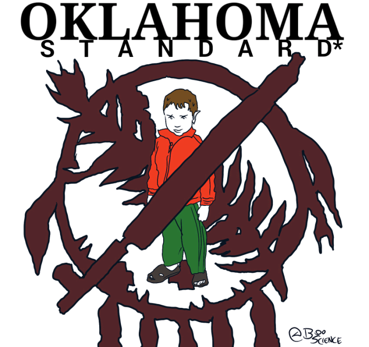 End hate, Oklahoma standard is for everyone.